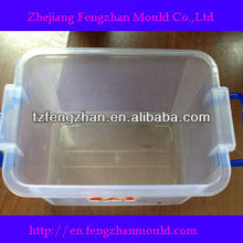 plastic storage case with handle mould
