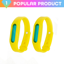 Sedex Factory Wholesale Eco-Friendly Effectively Repels Insect silicone mosquito repellent bracelet wristband