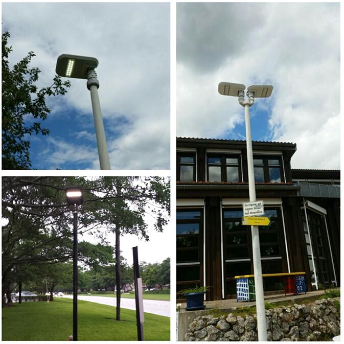 UL, cul DLC TUV SAA FCC IP65 IK10 Открытый 120 Вт Солнечный СВЕТ Уличного Света