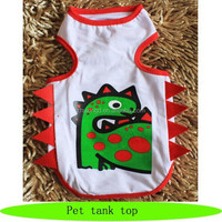 Dinosaur costume new pets products 2016, dog cooling vest, pet accessories 2016