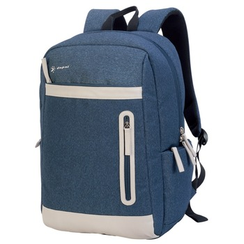 Blue Snow Fabric Branded Laptop Bag Designer Business Backpack