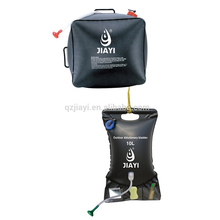 Outdoor camping shower water bladder bag