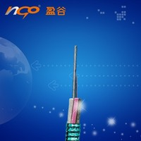 anti-rodent fiber optic cable outdoor gyty stranded single mode layer armored 8core optic cable GYTS-20B1
