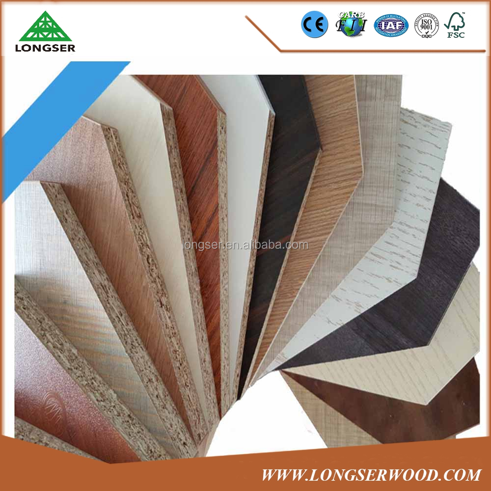 Longser 18mm Melamine Faced Particle Board/ Chipboard