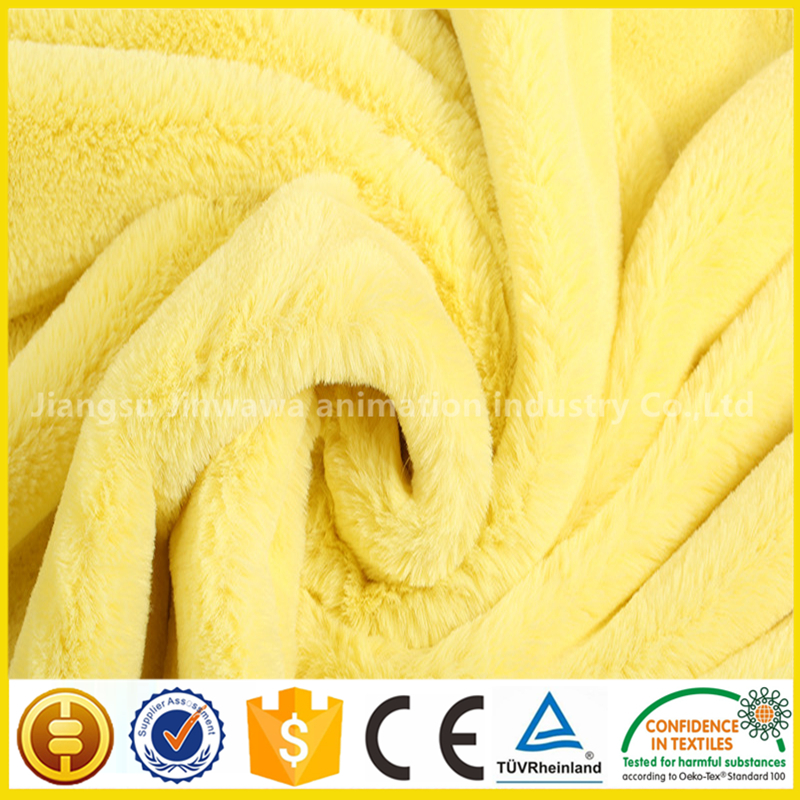 China supplier toy plush fleece fabric wholesale fabrics plush