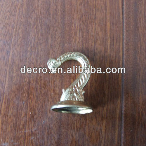 Brass Plated swag hook