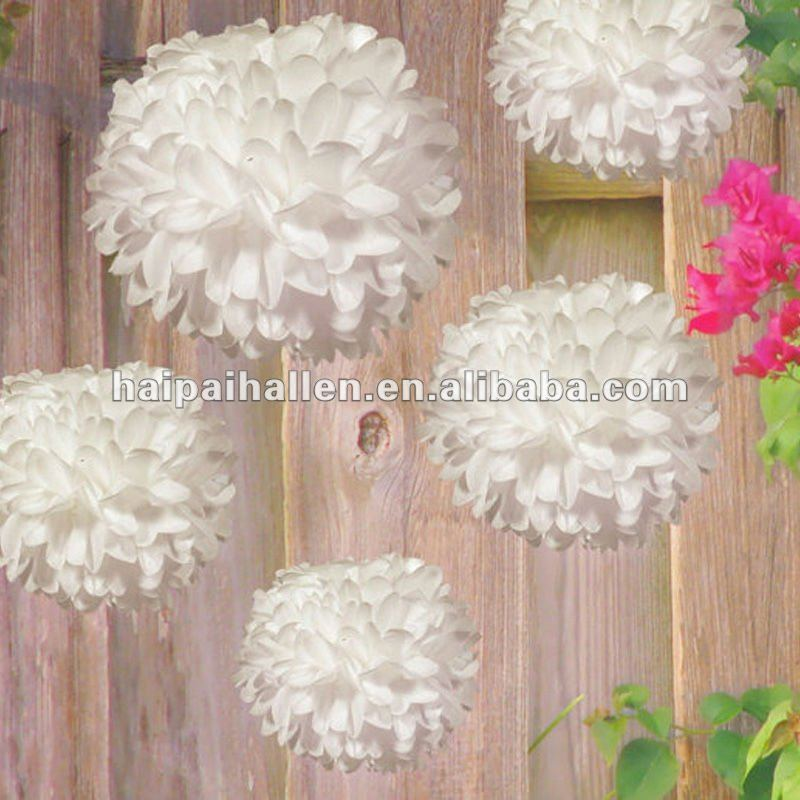 tissue paper pom poms wedding party round hanging decorations supplies buy tissue paper pom. Black Bedroom Furniture Sets. Home Design Ideas