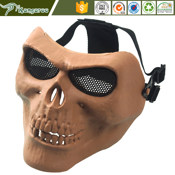 Protective Outdoor War Game Military full Printed airsoft Full face Mask