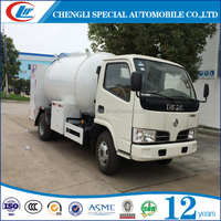 DONGFENG 4x2 5CBM/2.5T Mobile LPG Cylinder Filling Truck For Hot Sale