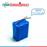 Super Power 18650 Lithium ion 7.4v 9000mah Battery Pack for POS Battery