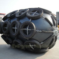 Diameter 1.5M x Length 3M ISO certificated high quality Evergreen-Maritme pneumatic rubber fenders