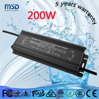 Shenzhen manufacturer 200w constant current led driver 3000ma waterproof led power supply