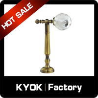 KYOK Brass Drapery Curtain Rod Hat Towel Hooks,Home Decoration 0.8mm Contemporary Curtain Hooks