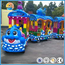 [Showann]New backyard Small Amusement Park Electric Trains for Sale