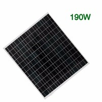 2016 High Quality Class A 60W 80W 103W Solar Panel System Price India