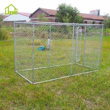 Cheap Outdoor Galvanized Chain Link Dog Kennel Panels
