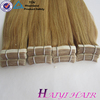 Seamless adhesive no glue skin weft Wholesale Tape Hair Extensions