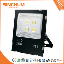 High Ip Rating Portable Security Led Flood Light Battery 200W