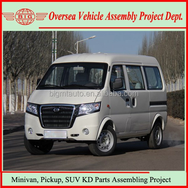 Motor Vehicles Manufacturing 8 Seats Passenger Minivan