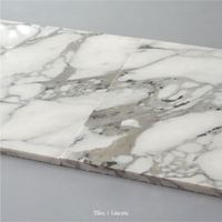 Solid China Carrara White Glass Floor Tiles And Marbles