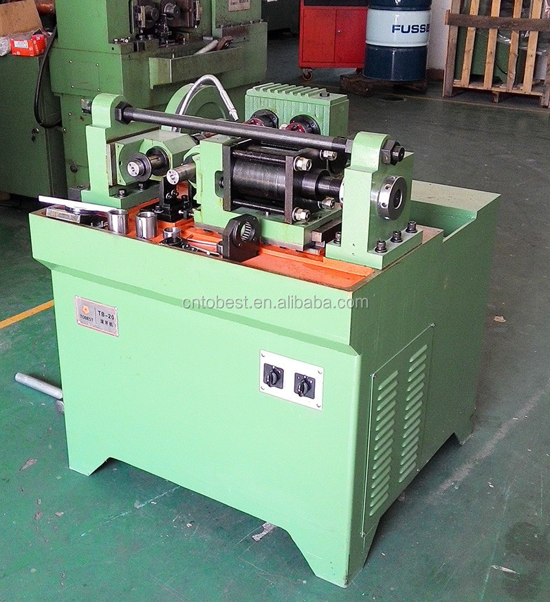 All thread rod making machine metric bolt thread rolling machine