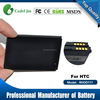 Best Selling rechargeable external battery t7373, RHOD160 for HTC EVO Shift 4G replaceable battery