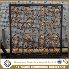 Latest modern simple steel/aluminum/iron window grill design for homes