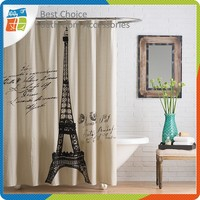 Fabric Polyester Shower Curtain