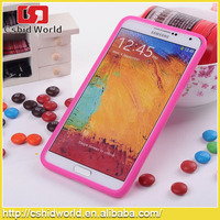 For Samsung Galaxy Note 3 Case Wih Mm Rainbow Bean Chocolate Silicon Case