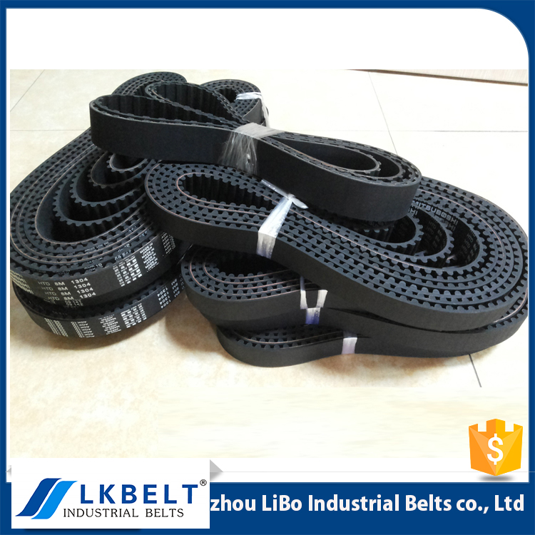 T type T5 / T10/ AT5/ AT10/ DT5/ DT10/ XL/ L/ H black synchronous belts / rubber timing beltings