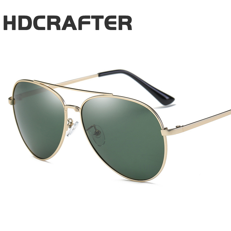 HDCRAFTER Men and women new polarized sunglasses classic yurt sunglasses driving glasses