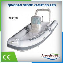 china manufactures ce 520 inflatable rib boat rigid
