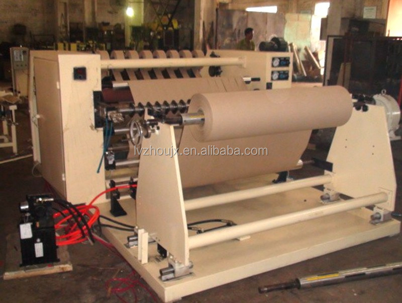 pvc/bopp film/paper rewinding and slitting machine/production line