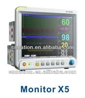 Touch screen with portable multi-parameter modular patient monitor-X5