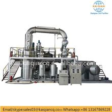 Black Oil Recycling Plant Used Oil Refinery Plant