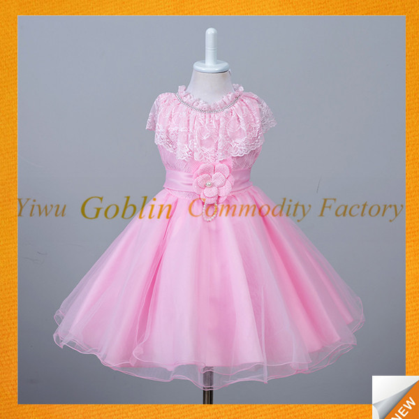 GBJY-724 Elegant Baby Girl Fairy Dress Baby Frock Designs 2016 Party Dress Girls Kids Princess
