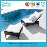 Patio Furniture Clearance Outdoor Rattan Lounge Chairs Garden Canopy For Sale