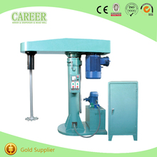 industrial High speed Paint Disperser and Dissolver mixer machine