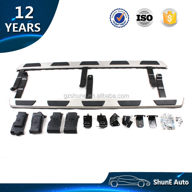 Aluminum Alloy +Stainless Steel OE Style Side Step For Audi Q3 Q5 Q7 2016 2017 Running Board OEM Auto accessories