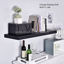 high quality home decoration wood floating shelves