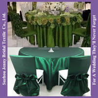 TC135B 2016 new design embroidered taffeta flower easter table cloth