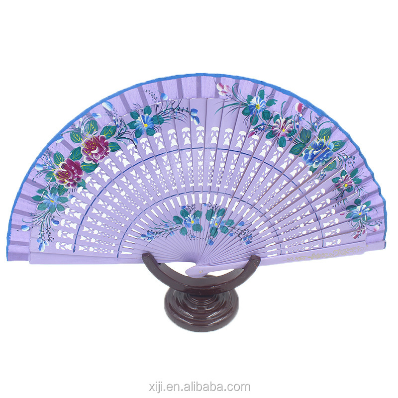 Hot sale Spanish hand fan for gift