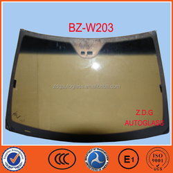 laminated safety car windscreen W203