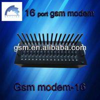 16 port gsm modem 4 sim cards gsm gprs modem pool