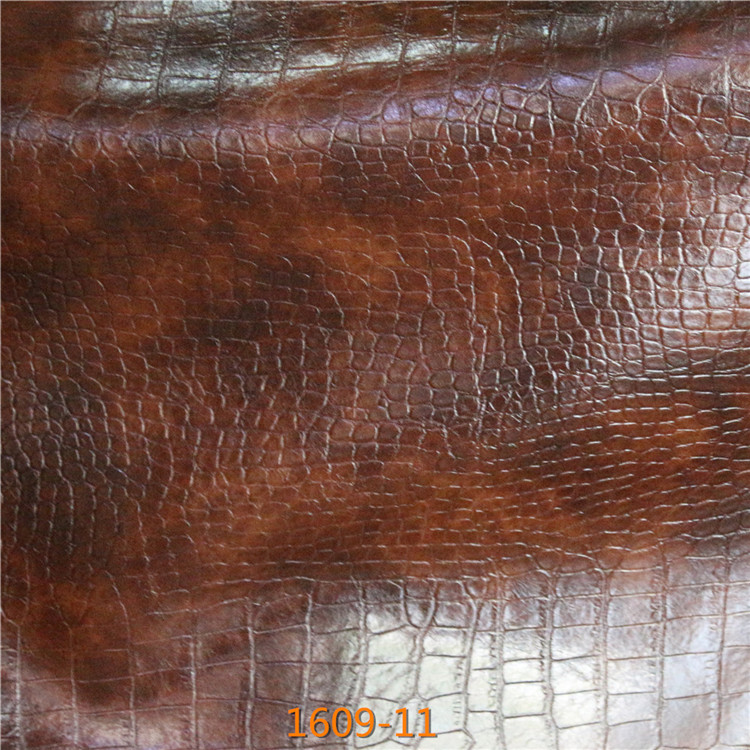 New Style Durable Snakeskin Synthetic Microfiber Leather for Making Sofa,furniture,Car Seat