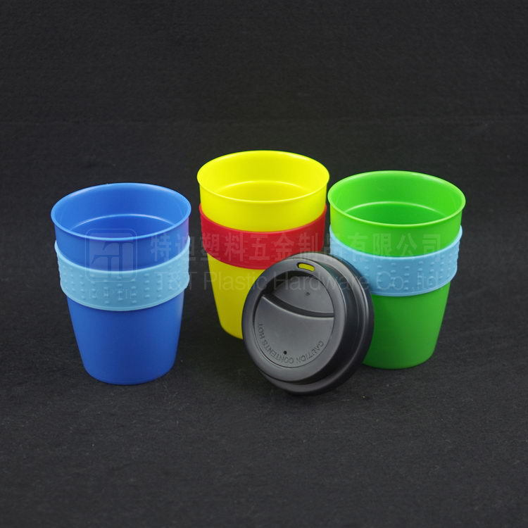 tooth mug/mini plastic travel cups with grip/cups of plastic