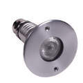 3W stainless steel micro mini led pool lights IP68 led rgb 24v led underwater lighting for pool,pond,dock ,fountain