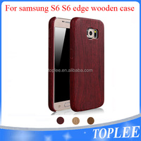 hot sale!! Wooden Case For samsung S6 S6edge case