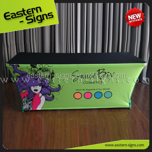 100% polyester printed table cloth