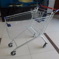 metal supermarket shopping trolley cart